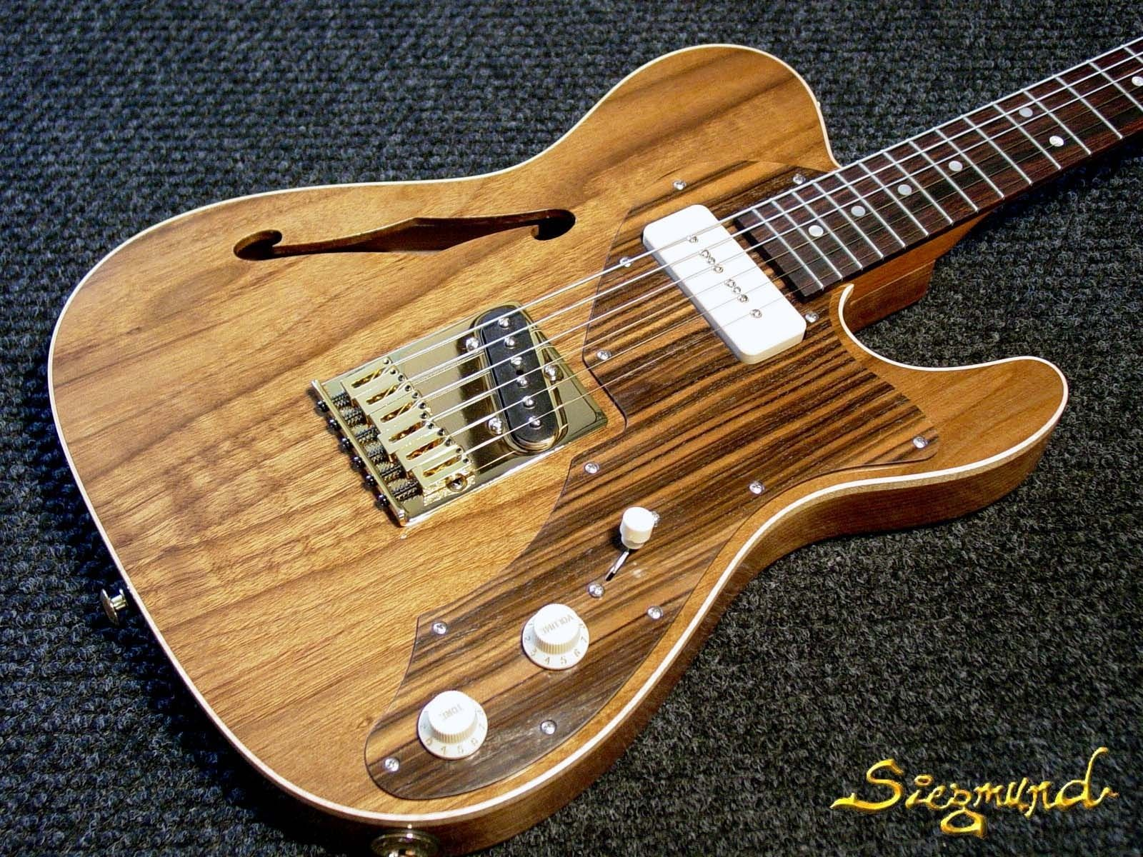 custom outcaster guitar by siegmund guitars amplifiers. Black Bedroom Furniture Sets. Home Design Ideas