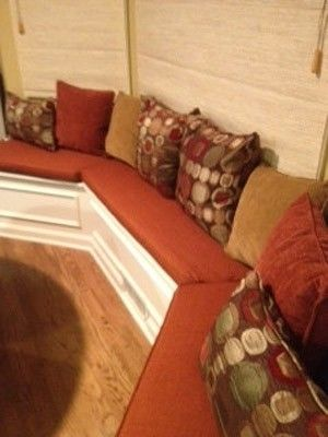 Custom Bay Window Seat Cushions By