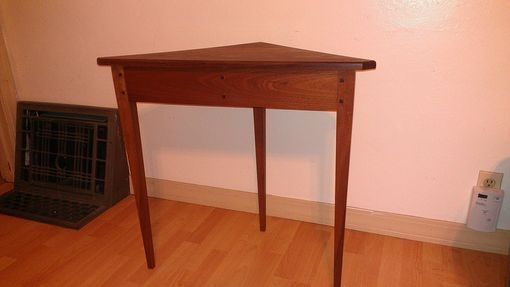 Custom Made Federal Corner Table