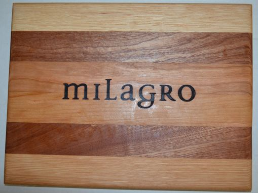 Custom Made Branded Wood Cutting Boards