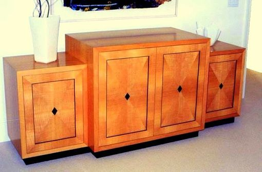 Custom Made Satinwood Television Cabinet