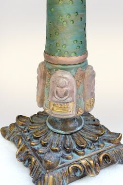 Custom Made Lotus – Hand Crafted Art Lamp