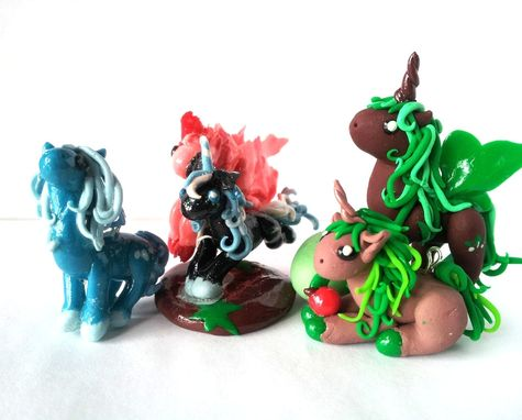 Custom Made Elemental Ponies