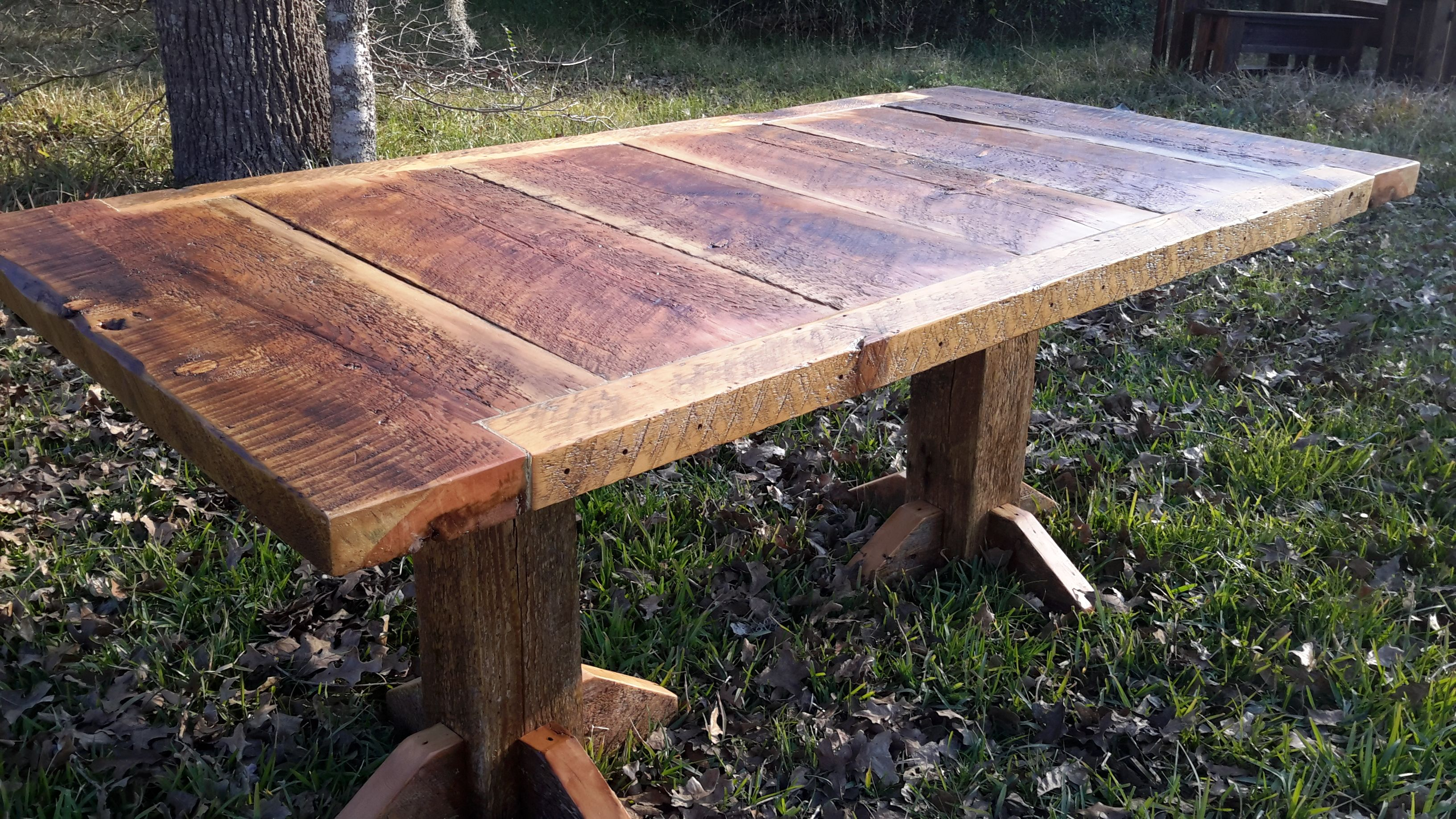 handmade montana made barnwood dining table by 406rustic
