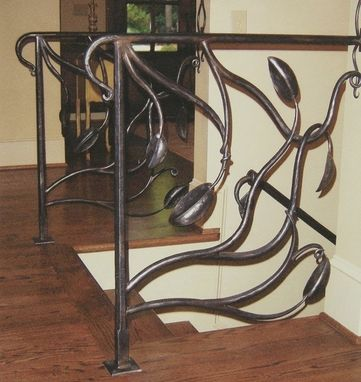 Custom Made Botanical Railing