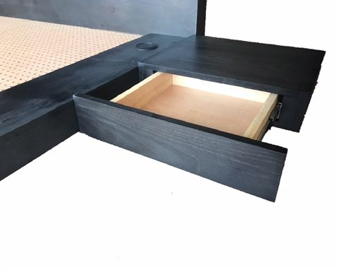 Custom Made Modern Platform Bed