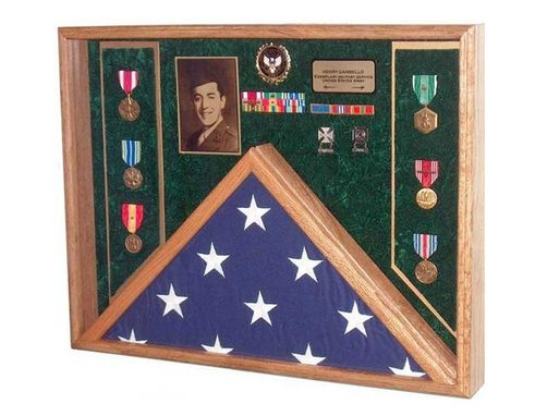 Custom Made Awards, Flag Display Case