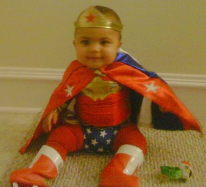 Custom Made Toddler Wonder Woman Costume