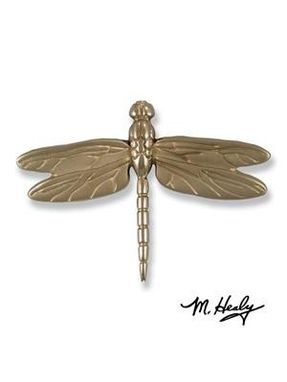 Custom Made Dragonfly In Flight Door Knocker Nickel Silver