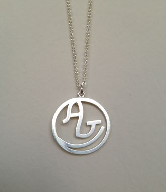 Custom Made Necklace With Initials