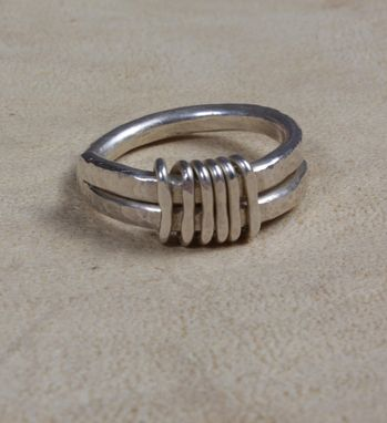 Custom Made Sterling Silver Wedding Ring
