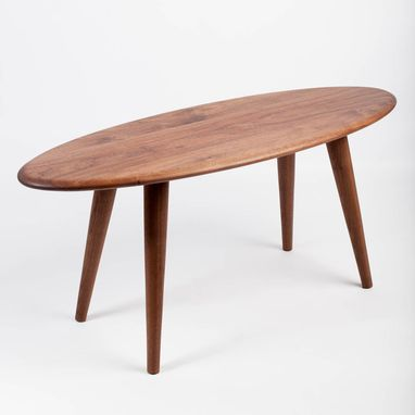 Custom Made Surfboard Mid Century Modern Coffee Table