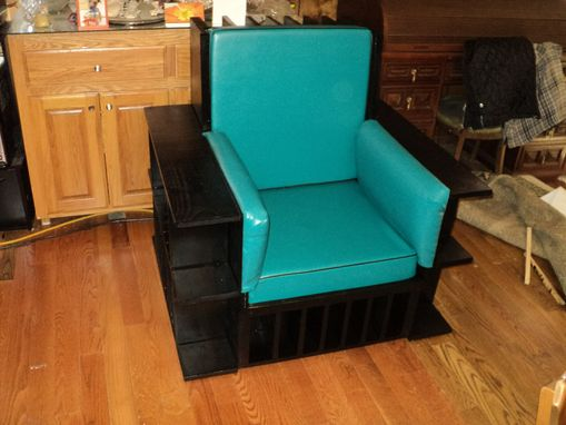 Custom Made Bookcase Library Chair
