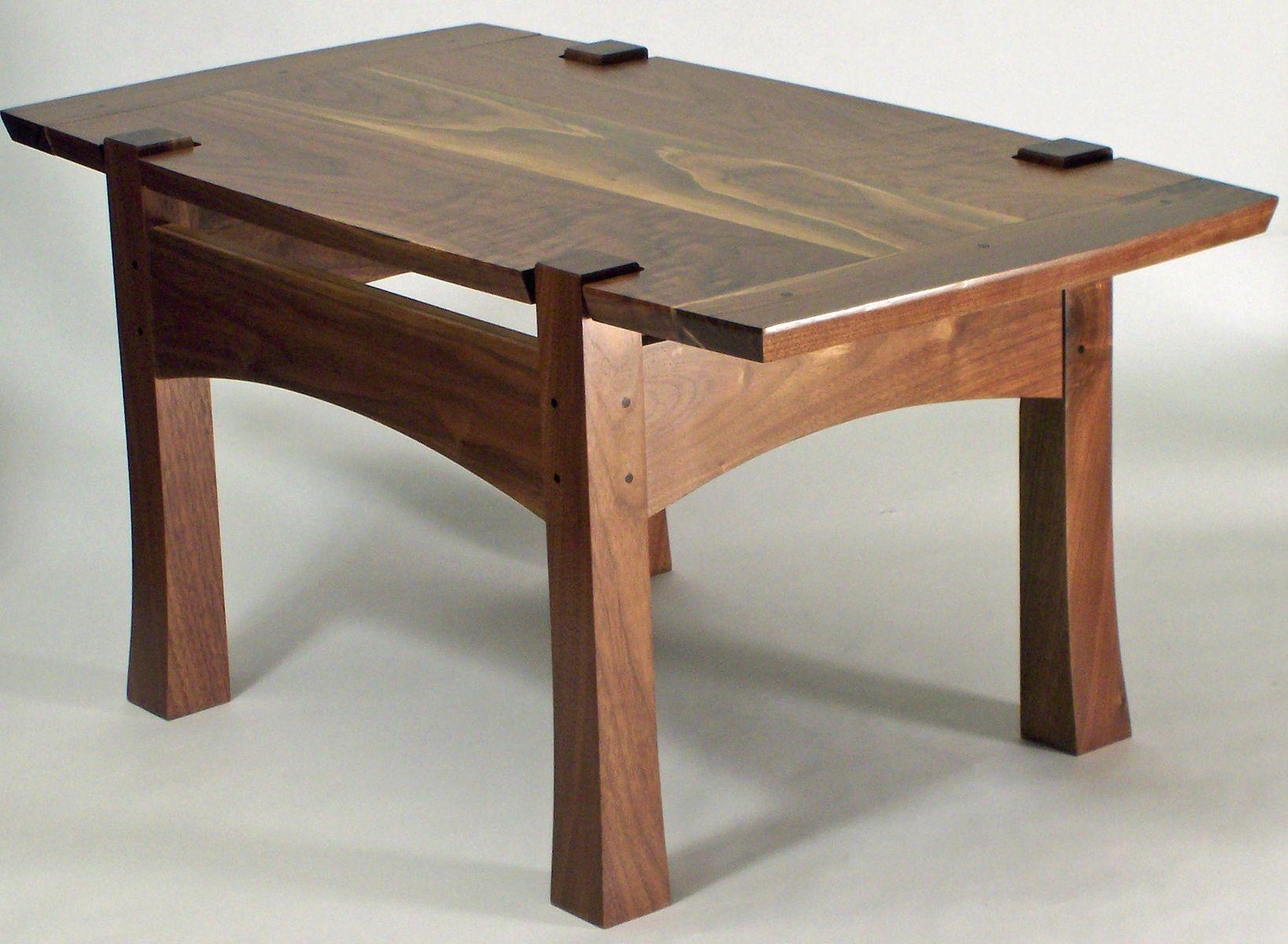 Custom made asian inspired side table by grant kistler for Design table replica