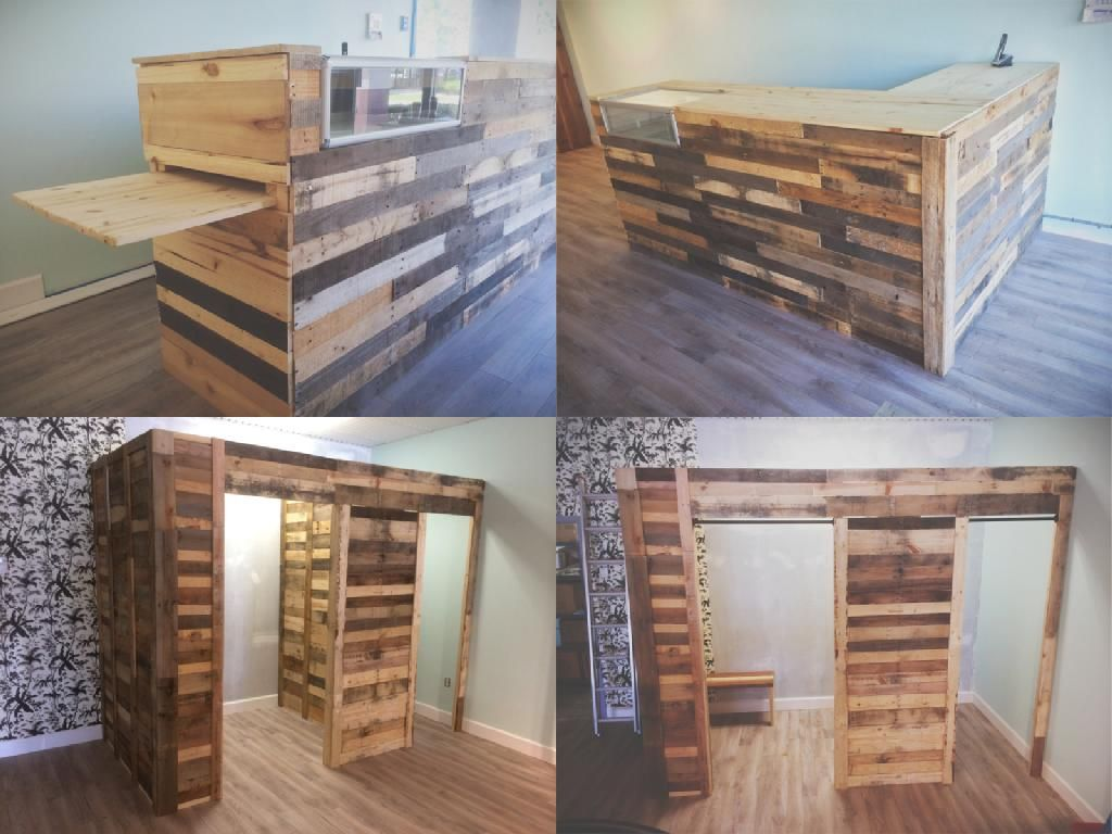 Hand Crafted Relaimed Wood Retail Fixtures By Timbercraft