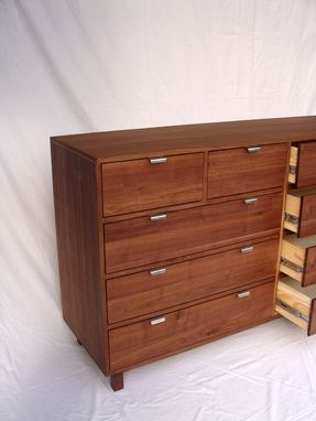 Custom Made Mecray Dresser In Walnut Midcentury Modern On Sale