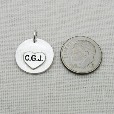Custom Made Baby's Footprints Or Handprints Charm Or Pendant