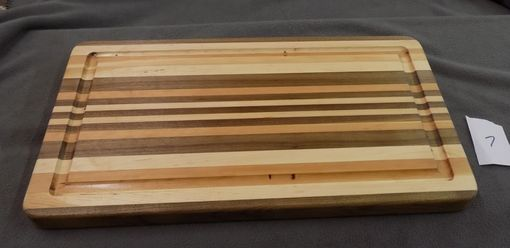 Custom Made Multi-Wood Cutting Board