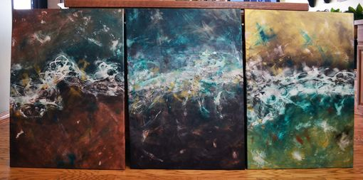 Custom Made Changing Seasons I, Ii, & Iii 34x23 Each