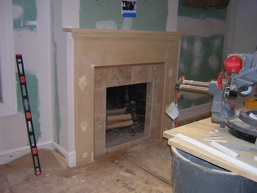 Custom Made Custom Fireplace Surround