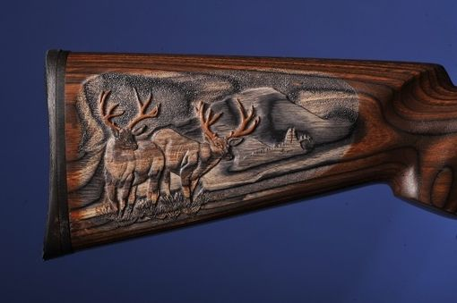 Custom Made Custom Carved Gunstocks