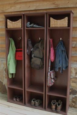 Custom Made Locker, Entryway Storage, Organizer