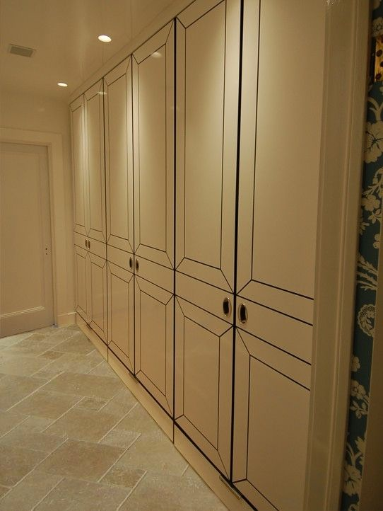 Hand Made Lacquered Closet System By Zci Woodworks
