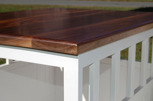 Hand Made End Table Low Shelf To Be Placed Over Dog Crates By Jho Studios Llc Custommade Com