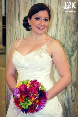 Custom Made Silk Bridal Bouquet #4