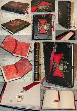 Custom Made Victorian Black Widow Kill Counting Journal