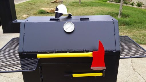 Custom Made Custom Themed Bbq Pit
