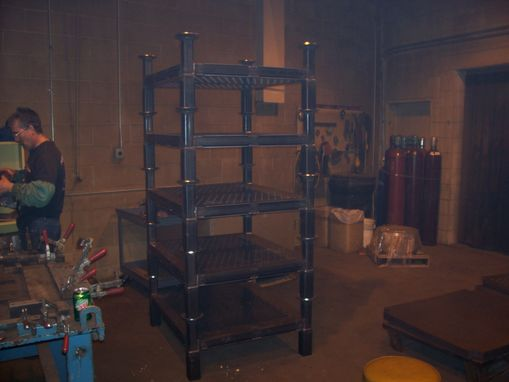 Custom Made Stack Racking For Tooling