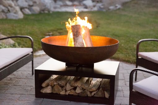 Custom Made Miner's Fire Pit