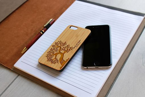 Custom Made Custom Engraved Wooden Iphone 6 Case --Ip6-Bam-Mark Taylor