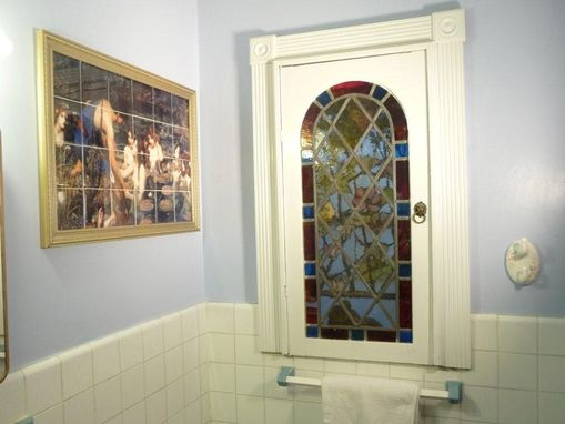 Custom Made Water Resistant Bathroom Ceramic Tile Mural