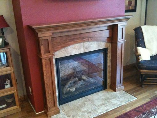 Custom Made Fireplace Surround Mantel