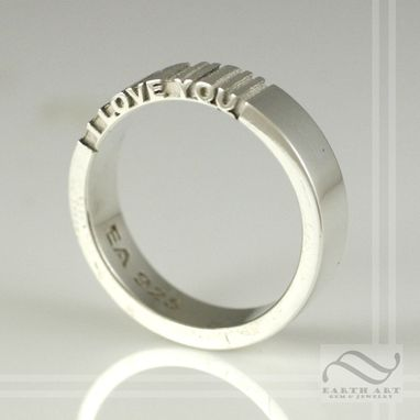 Custom Made Secret Message Ring - Choose Your Message!
