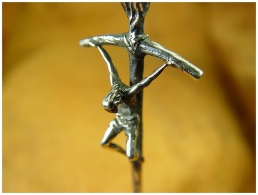 Custom Made Sterling Silver Crucifix