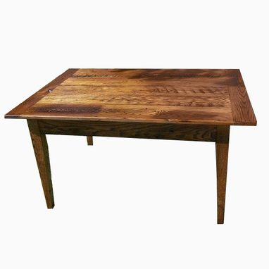 Custom Made Solid Oak French Country Table