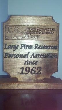 Custom Made Plaques & Awards