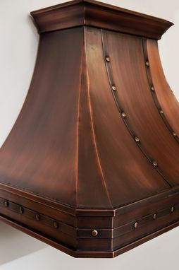 Custom Made Classic Copper Hood 30