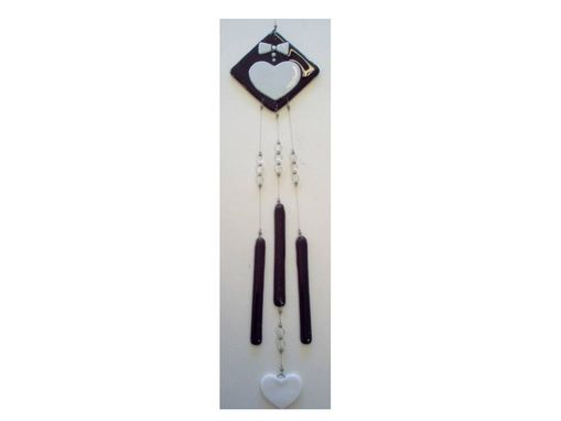 Custom Made Wedding Plate Wind Chime, Ready To Ship