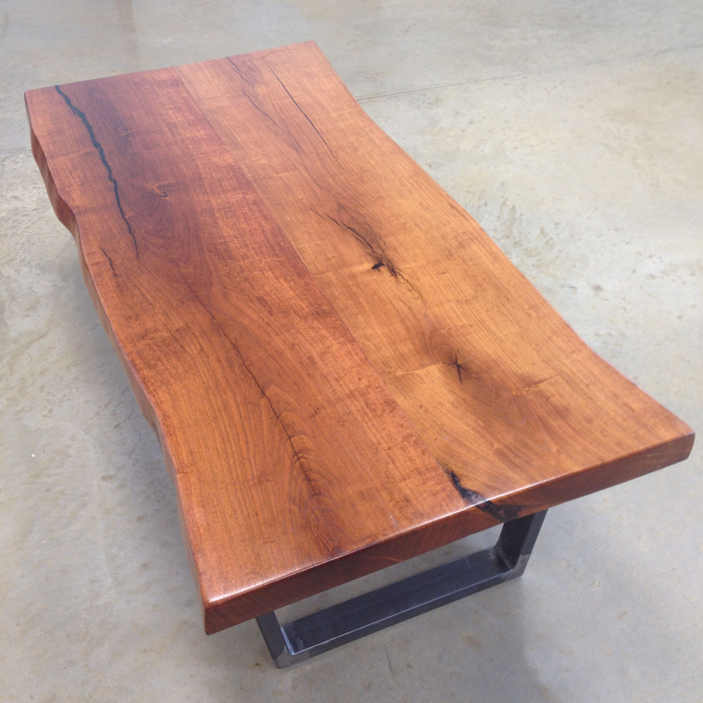 Buy A Hand Crafted Mesquite Coffee Table With Boatman Base