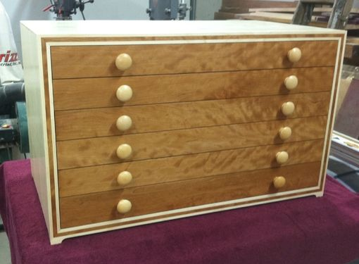 Custom Made Jewelry Chest To Fit Into Armiore