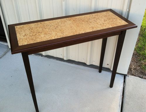 Custom Made (Sold) Wenge Sofa Table
