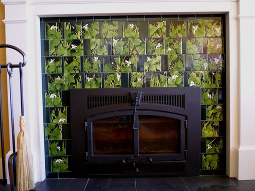 Custom Made Reynolds-Nelson Fireplace Tile Surround