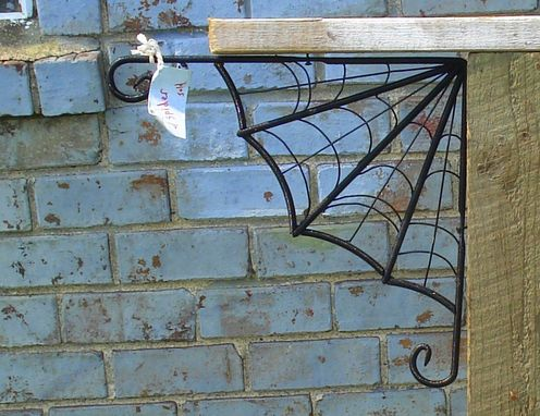 Custom Made Metal Spider Web