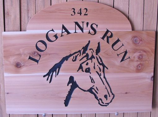 Custom Made Sign Will Be Mounted On A Large 6'X4' Foot Mountain Stone.