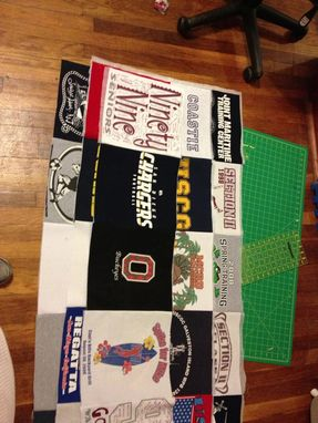 Custom Made T-Shirt Quilts