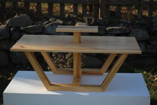 Custom Made Spring Coffee Table